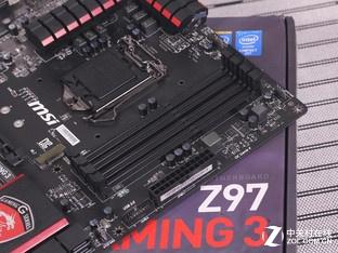 微星Z97 内存插槽