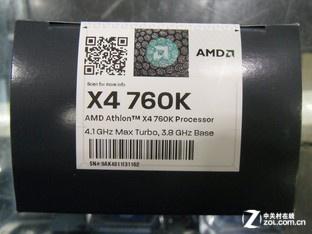 低成本也玩超频 速龙II X4 760K仅400元