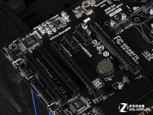 技嘉GA-B85-HD3 显卡插槽图