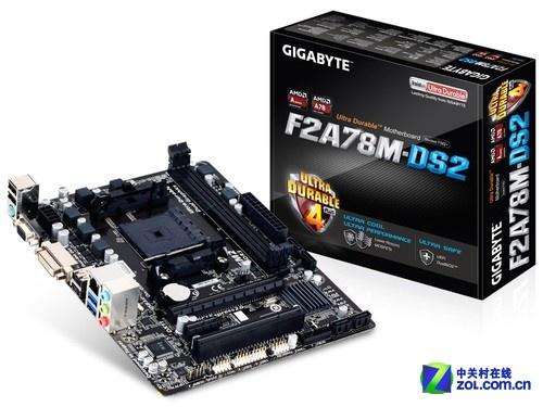 FM2+接口兼容主板 技嘉超耐久A78新上市