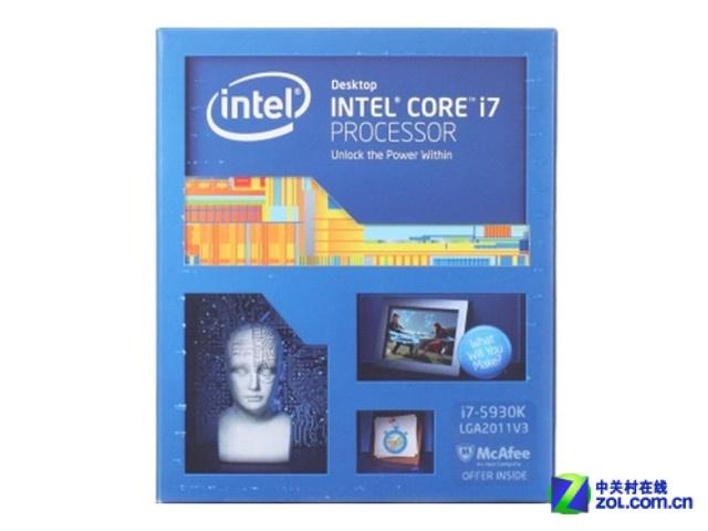 Intel六核旗舰 酷睿i7-5930K京东报4299