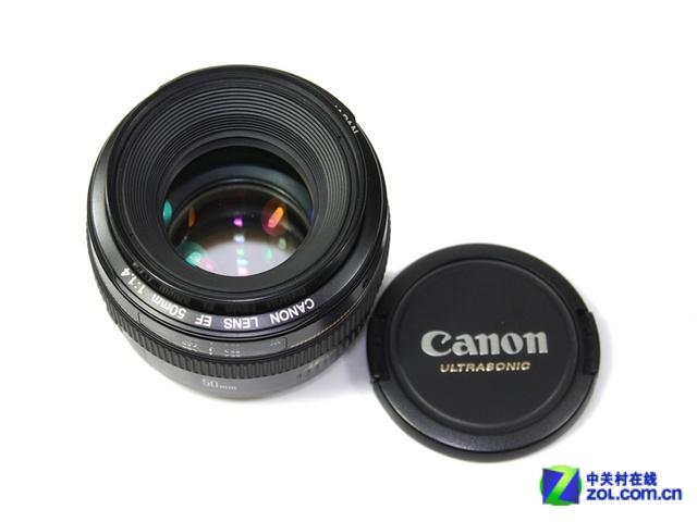 大光圈定焦镜头 佳能50mm f1.4售2459元