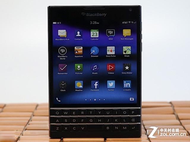 高配全键盘 黑莓Passport Q30报2080元