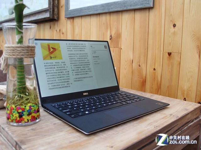 戴尔 XPS 13 戴尔 XPS 13(XPS13D-5508)超极本外壳采用阳极氧化铝机身、碳纤维底座,设计灵感来自超级跑车;采用背光键盘、巧克力键帽、圆形的开机按钮设计在键盘面左侧;采用11英寸笔记本的机身模具,但是配备了一块13.3英寸无边墨晶屏,因此屏幕边框相当窄,视觉体验更佳。 戴尔