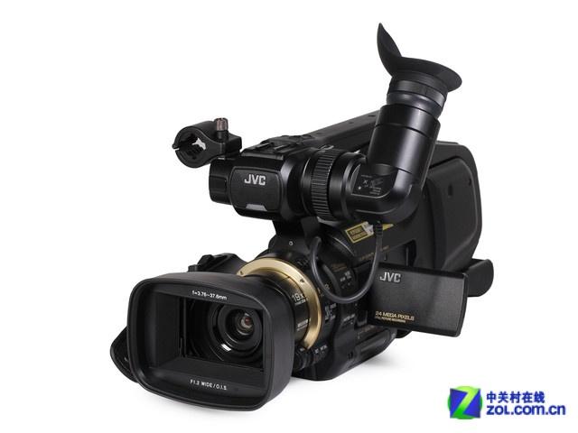 加长记录时间专业DVJVC摄影机JY-HM95