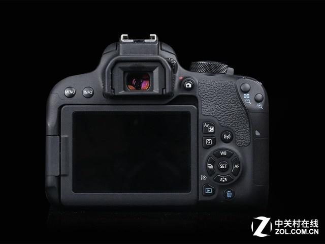 2420万像素入门单反 佳能800D套机新低