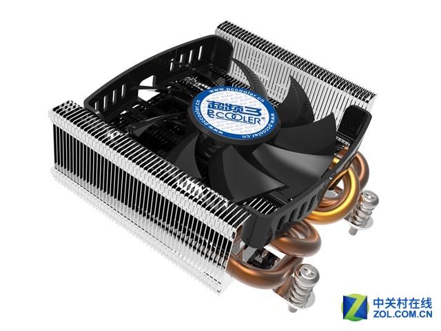 4根纯铜热管 超频三冷锋S815A散热器