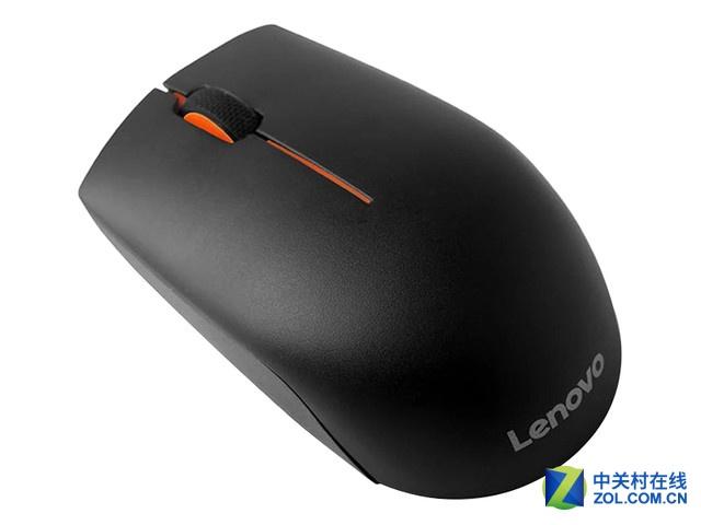 联想N1901A(L300) 无线光学鼠标符合人体工程学设计,持握舒适,可以很好的贴合手部线条,长久使用也不觉累&