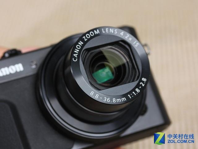 24-100mm等效焦距 佳能G7X II京东3999元