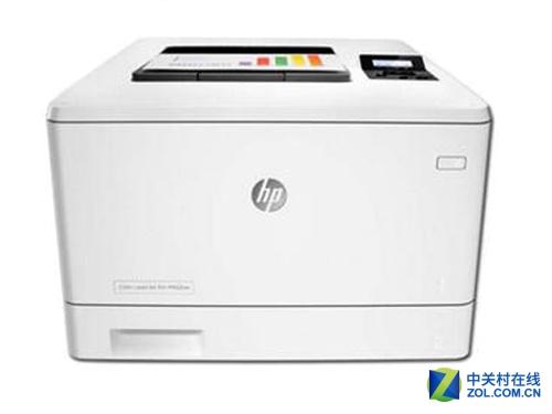 惠普M452NW彩色A4激光打印机报价3499元